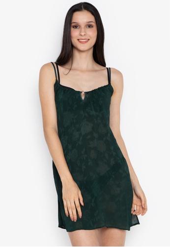 8e13300f29c2 Shop Women Secret Floral Jacquard Short Nightdress Online on ZALORA ...