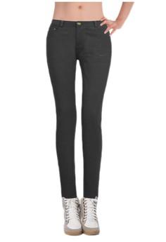 Miss Sexy by Starwalk Fashion Skinny Pants - Dark Grey