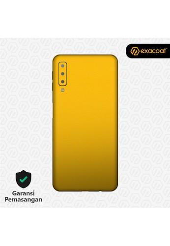 Exacoat Galaxy A7 (2018) 3M Skins True Colors - Lemon Yellow 184F5ESC2E32B1GS_1