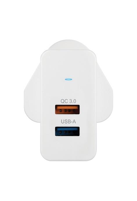 Verbatim Verbatim 25W QC 3.0 雙端口USB充電器