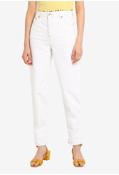 3f2682386752c TOPSHOP white White Balloon Jeans 038F2AA2D411A5GS_1