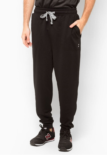 Factorie black College Trackies FA502AA87ZLKSG_1