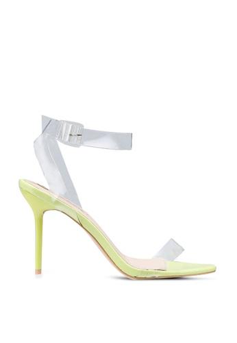 Public Desire 黃色 Layton 高跟鞋 EE191SH21EA867GS_1