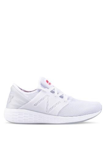 New Balance white CRUZ V2 Reflective Future Sport Shoes F6BDFSH2FB1F49GS_1