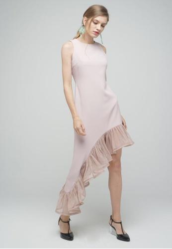 Megane purple Red Romance Amie Asymmetric Dress 08143AACF80878GS_1