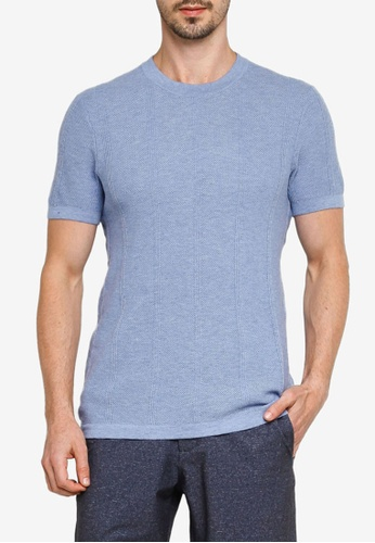 Abercrombie & Fitch blue Sweater Tee 51A59AA9429409GS_1