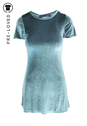 Reformation silver Pre-Loved reformation Mini Silver Dress 1A8CDAA3B030A6GS_1
