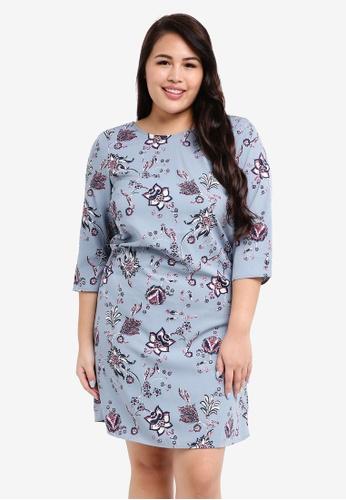 Junarose blue Plus Size Maya Zeenan Dress C5923AA4566996GS_1