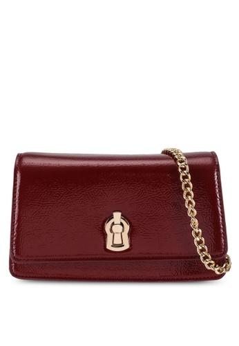 Dorothy Perkins red Red Patent Mini Cross Body Bag F73B7ACBB95A1AGS_1