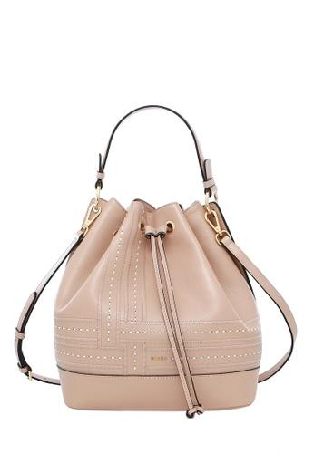 BONIA pink Blush Pink Forma II Drawstring Bucket Bag M 84404AC687766BGS 1 a9fc1a8b1b