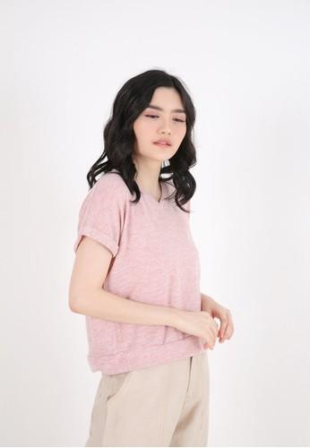 Sorabel pink Afifa Plain Vest Pink 46081AA22E7752GS_1