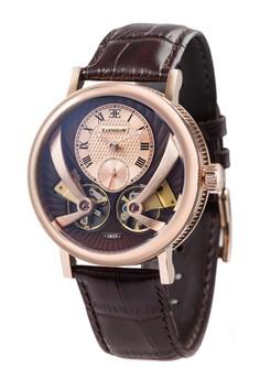 Thomas Earnshaw Men's Genuine Leather Strap Watch - ES-8059-03
