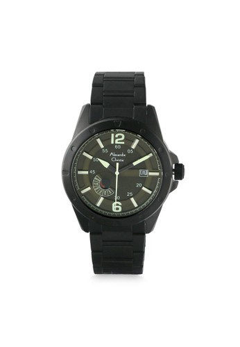 Alexandre Christie black and green Alexandre Christie AC 6536 MEBIPGN Jam Tangan Pria Stainless Steel 3153FAC1767147GS_1