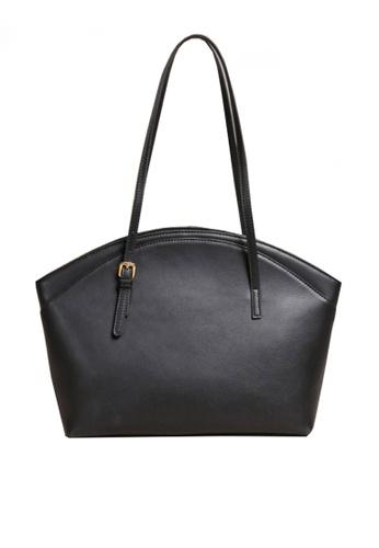 Twenty Eight Shoes black VANSA Simple Leather Tote Bag VBW-Tb9943 E1514AC5BCDBEEGS_1