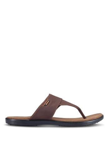 Louis Cuppers brown Casual Sandals LO977SH0RF82MY_1