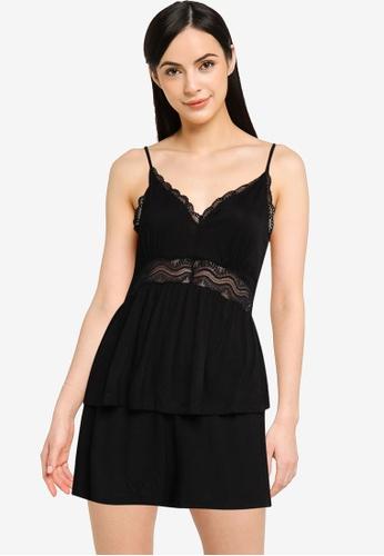 Vero Moda 黑色 Vilma Nightwear Set F9FF0AAB489760GS_1