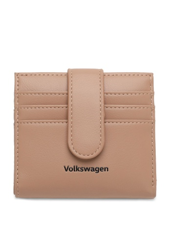 Volkswagen brown Faux Leather Mini Wallet 7CED1AC2C580A0GS_1