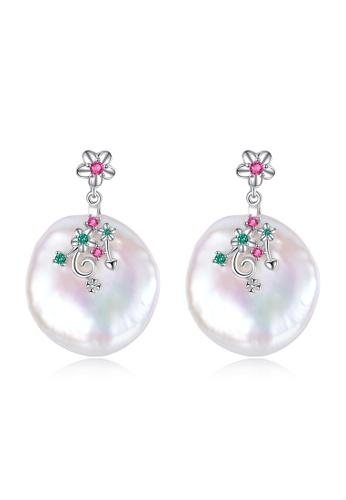 A.Excellence white Premium White Pearl Elegant Earring ED993ACC265307GS_1