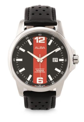Alba black Men Analog Watches AS9C51 4DA6BAC3397DB1GS_1