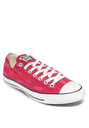 Chuesprit 台中ck Taylor All Star 條紋帆布鞋, 鞋, 休閒鞋