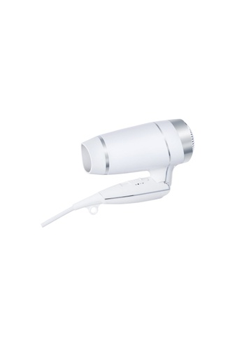JVD JVD Lifestyle Keos Foldable With Chrome Trimming Hairdryer (1600W), White 480A0BE3EB7237GS_1
