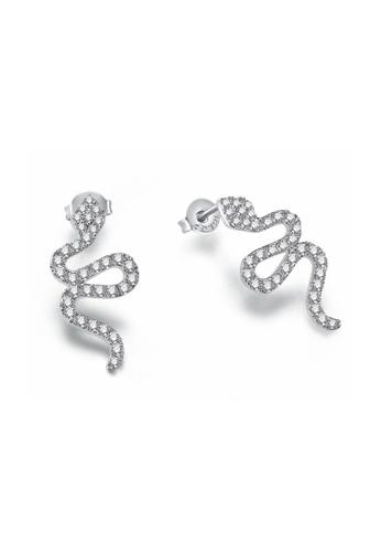 Kings Collection silver Exquisite Rose Oil Drop Earrings (KJEA18033) 79DE2ACD4EF241GS_1
