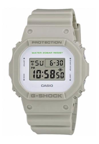 G-shock grey CASIO G-SHOCK DW-5600M-8ER GS076AC63TYYMY_1