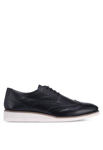 Carlton London black Lace Up Shoes 8990DSH4116470GS_1