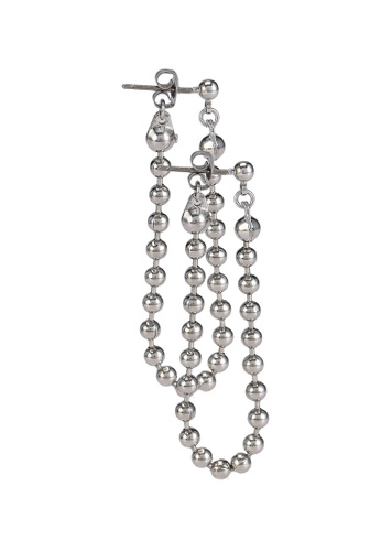 niko and ... silver Linked Beads Dangle Earrings 2D219AC074BD92GS_1