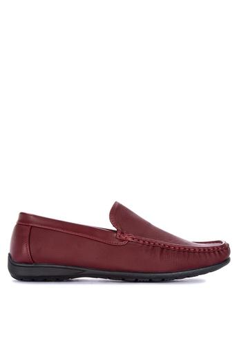 H2Ocean red Nacio Men's Casual Loafers 7F0EESHC8AD4F9GS_1