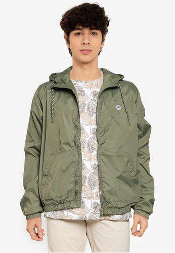 BLEND green Light Hooded Jacket 8B4B8AA41AA33CGS_1