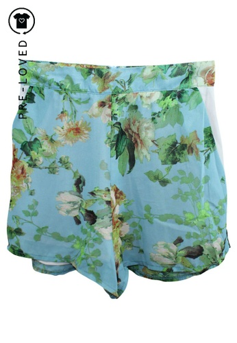Reformation multi Pre-Loved reformation Floral Print High Waisted Shorts 61027AAF19FCF3GS_1