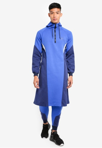 SYNDEED 藍色 撞色kurta套裝 6E0C5AAA896516GS_1
