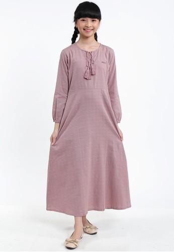 EXIT GIRL pink Safira Dress 72D1FKA36E84D7GS_1