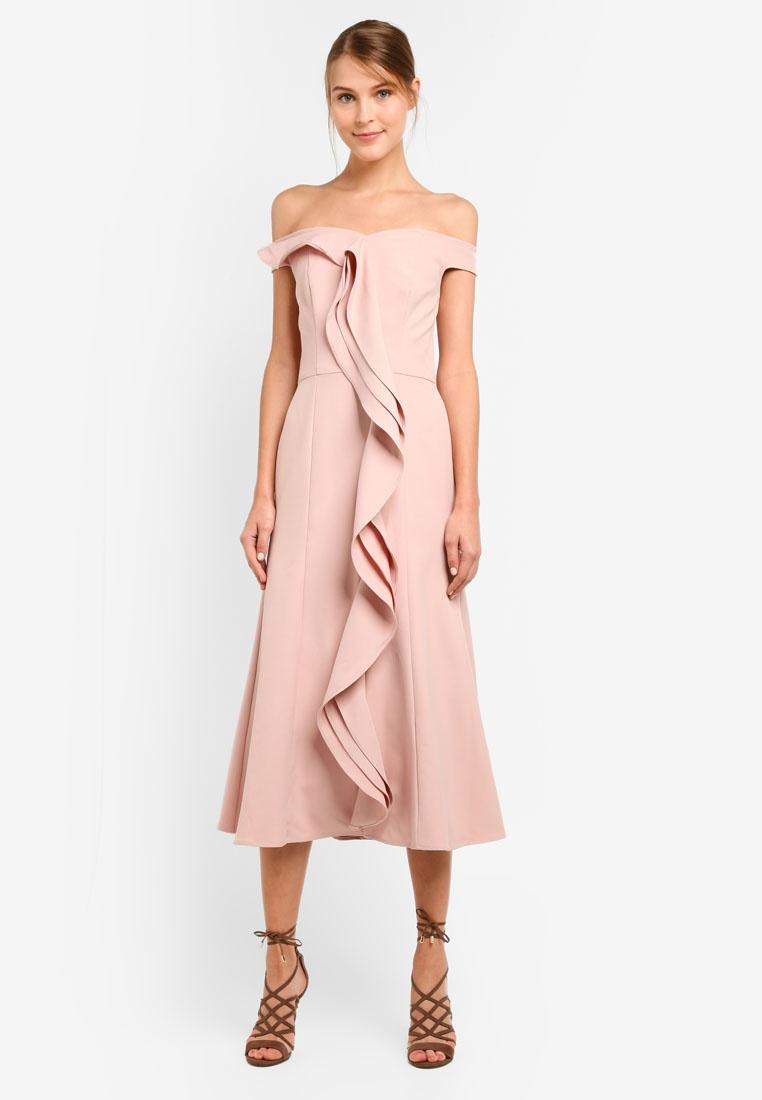 Dusty Dress Pink Amelia LONDON JARLO wtzqSS1f
