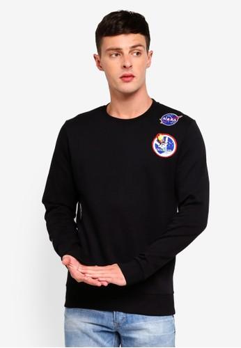 Jack & Jones black Jornasa Sweatshirt 9A77DAA00F5421GS_1
