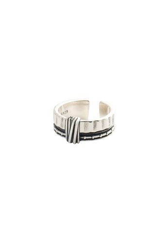 A-Excellence silver Premium S925 Sliver Geometric Ring 94628AC5590C2BGS_1