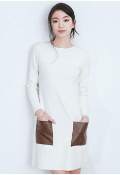 Sleek Appeal Pocket Dress