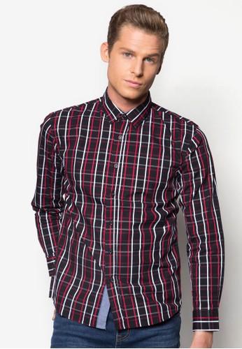 格紋長袖襯衫, 服esprit地址飾, 格紋襯衫
