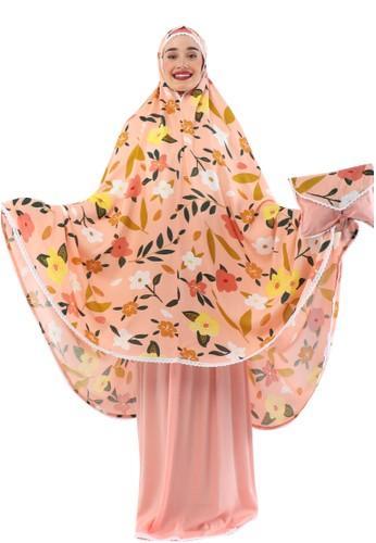 TAZBIYA pink MUKENA TAZBIYA PET ALINA PINK ALLSIZE 7DAD1AAC8FFB24GS_1