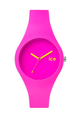 Ice Ola 矽膠中性圓錶esprit 品牌, 錶類, 飾品配件