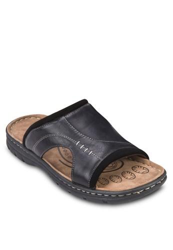寬帶仿皮涼鞋esprit 工作, 鞋, 鞋