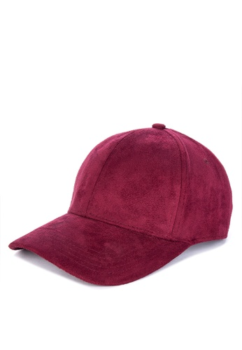 Shop OXYGEN Suede Curved Baseball Cap Online on ZALORA Philippines ff971b82fa73