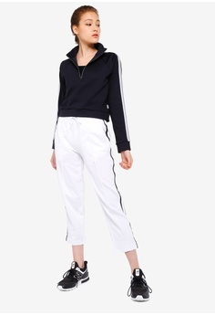 809c7e61ce356 8% OFF New Balance Athletics Select Cropped Track Pants S$ 89.00 NOW S$  81.90 Sizes XS S M L