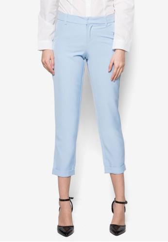 Simone 直筒西裝zalora 評價長褲, 服飾, 長褲及內搭褲