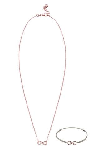 Elli Germany pink Elli Germany Jewellery Set 925 Sterling Silver EL474AC0S9DCMY_1