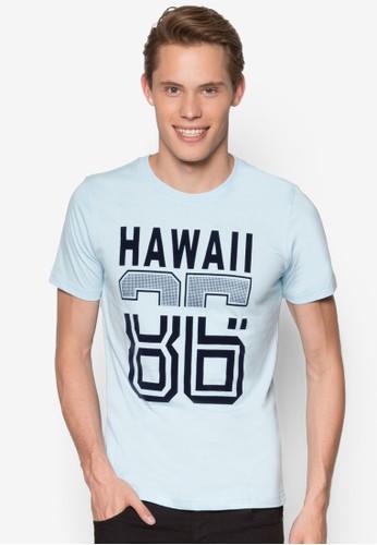 短袖設計 TEE, 服飾, 印esprit outlet 桃園圖T恤