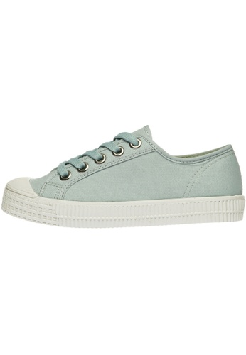 paperplanes Paperplanes-1350 Casual Low Top Flats Canvas Sneakers Shoes US Women Size PA110SH60ZYDHK_1