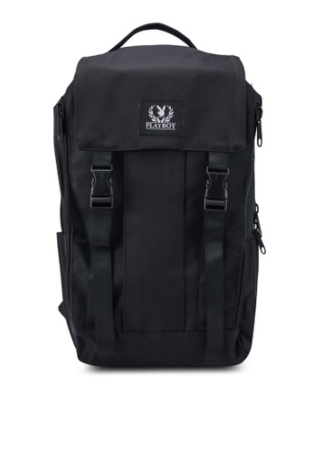 Playboy black Playboy Laptop Backpack 86BF8ACE2A61FEGS_1