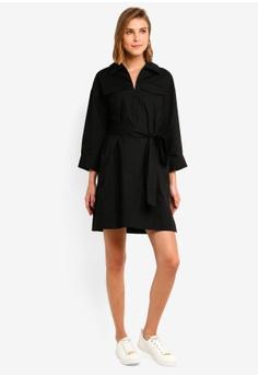 f49eb485c French Connection Briella Cot Shirt Dress Wth Belt S$ 180.90. Sizes XS S M  L XL